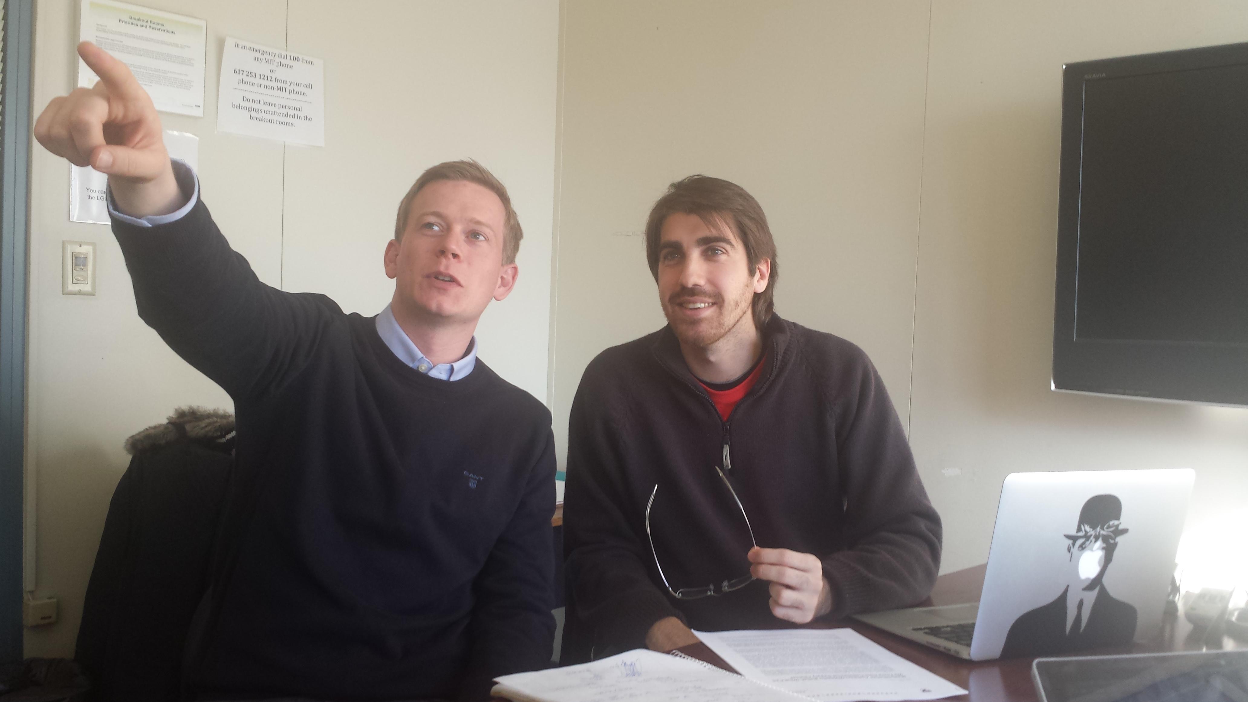 Niklas and Tomas